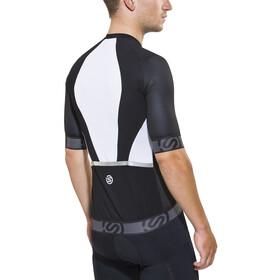 Skins Cycle Fietsshirt korte mouwen Heren wit/zwart